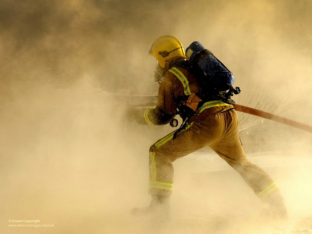 Pursuing a career as a firefighter