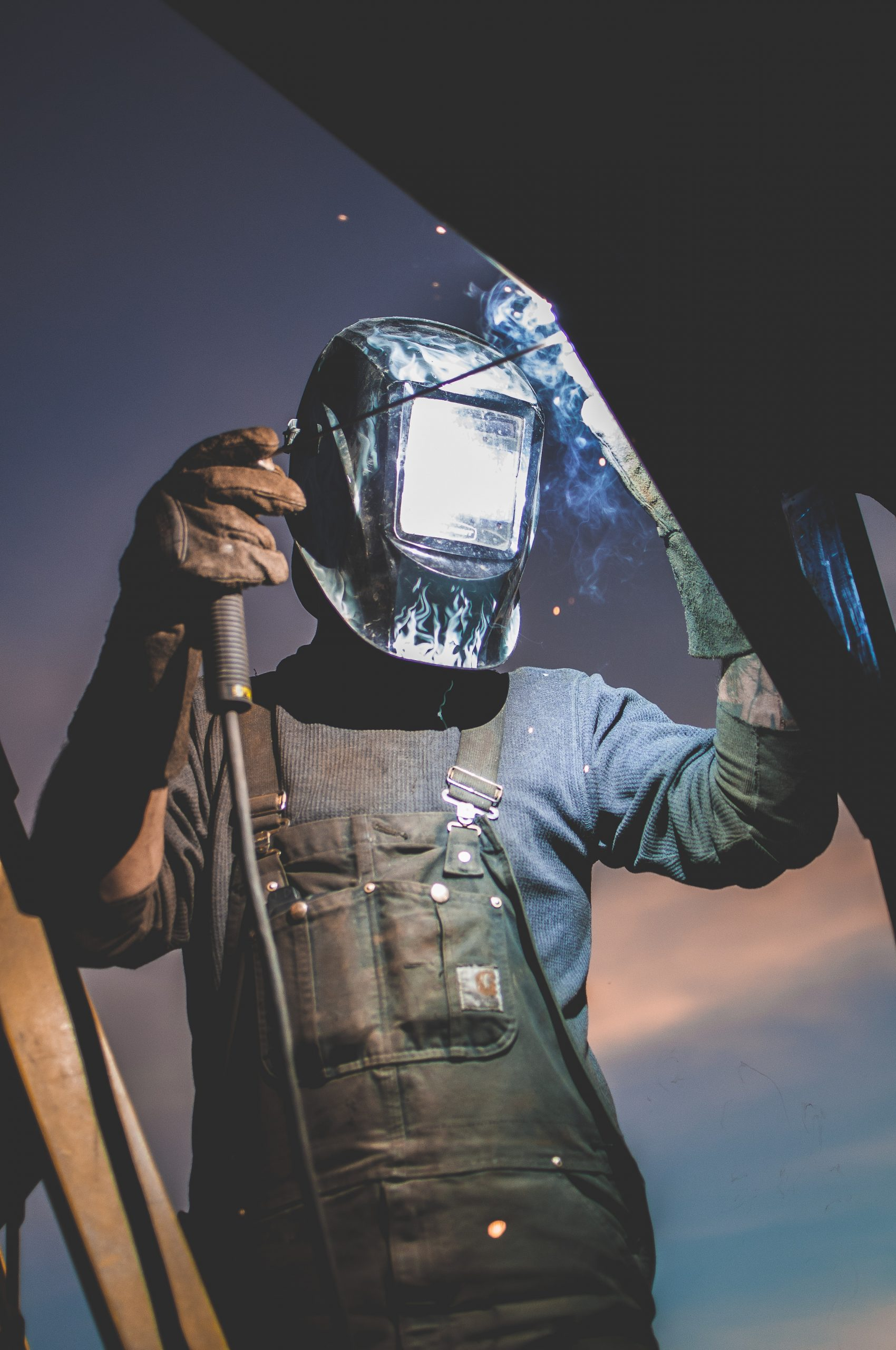 Getting into welding